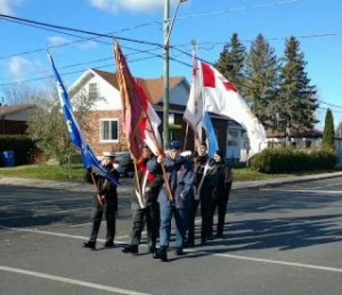 Parade du Jour du Souvenir